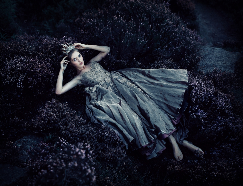 model-dress-lying-down-plants-dark-theme-tiara-photography-girls-7269-resized