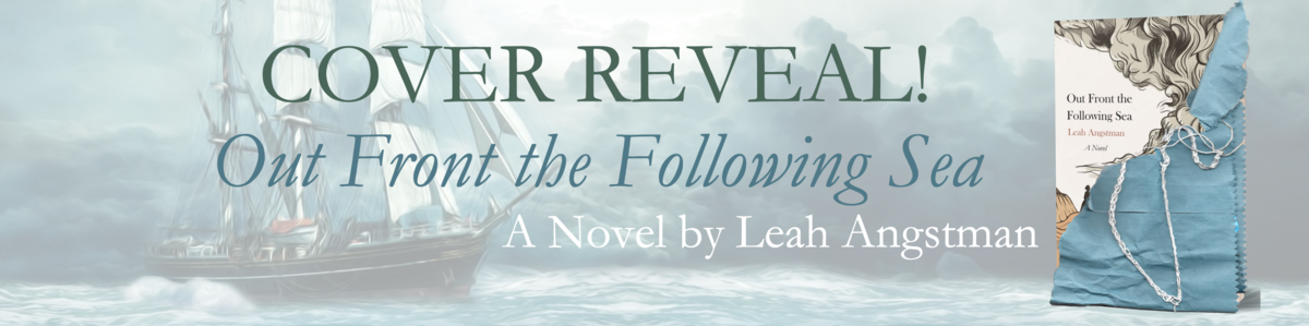 Out Front the Following Sea cover-reveal banner